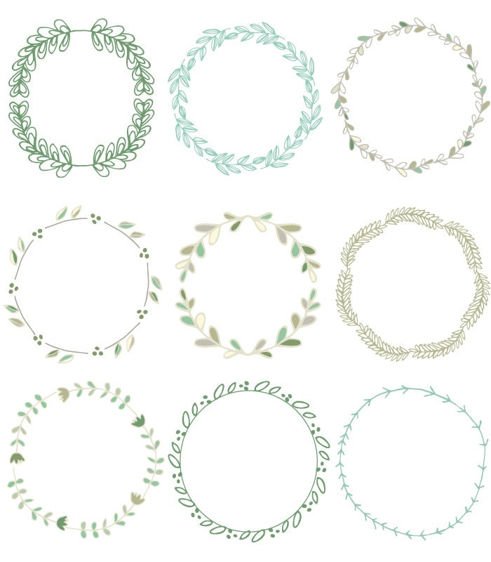 Laurel Wreath Clip Art Images Vector and Photoshop Brushes