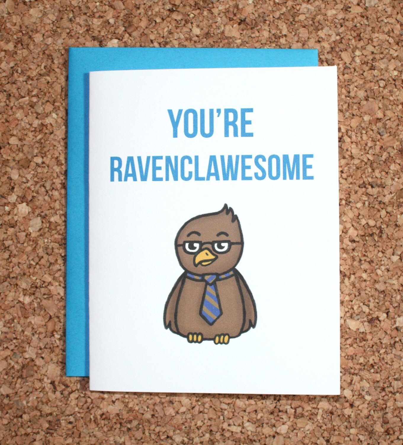 Harry Potter Card Ravenclaw / You're Ravenclawesome