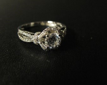 Classic Designer Inspired Engagement Ring, Made to Order