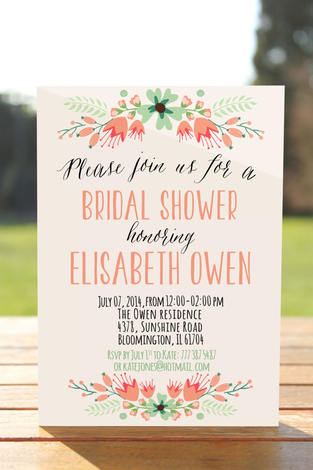 This is a picture of Modest Bridal Shower Invitations Free Printable