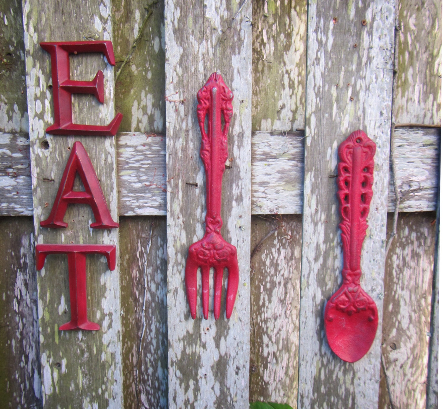Https Www Etsy Com Listing 192741217 Large Fork And Spoon Fork And Spoon