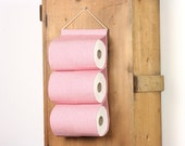 "toilet paper holder ""Rollland"" toilet tissue holder storage for toilet paper storage solution for bathroom 2 rolls in a row"