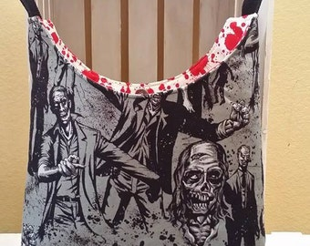 Zombie Purse! Bag with Blood Splats