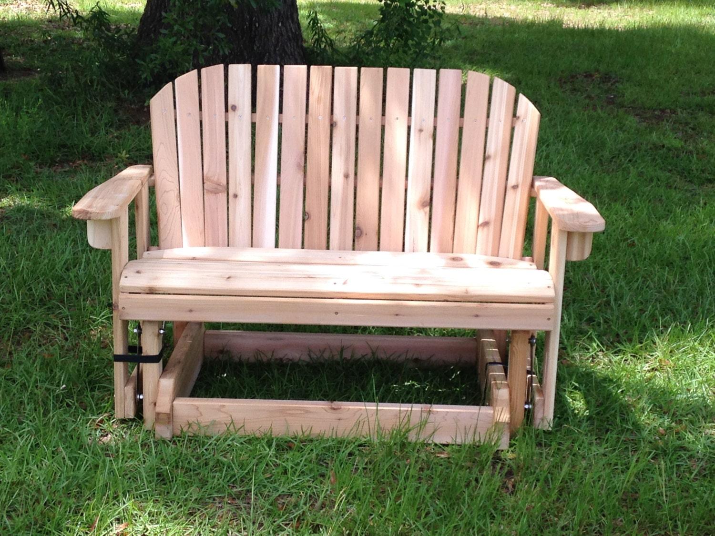 Great Garden Bench Glider For Patio