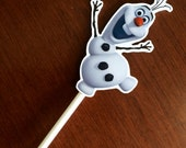 Frozen cake toppers olaf cake topp