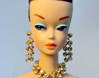Handmade Fashion doll jewelry set  for Barbie, Reproduction Barbie, Silkstone Barbie and Fashion Royalty NE100033