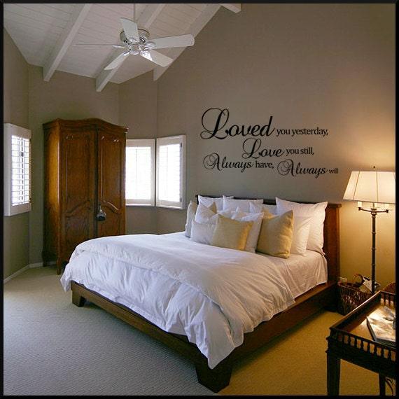 romantic bedroom wall decals master bedroom wall decal