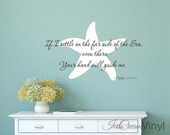 Scripture Wall Decal Psalm 139 Inspirational Vinyl Decor for Bedroom Family Room Nursery Playroom