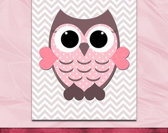 Popular items for baby girl owl decor on etsy - Girl owl decor ...