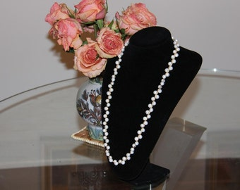 Pearls in Gold Necklace