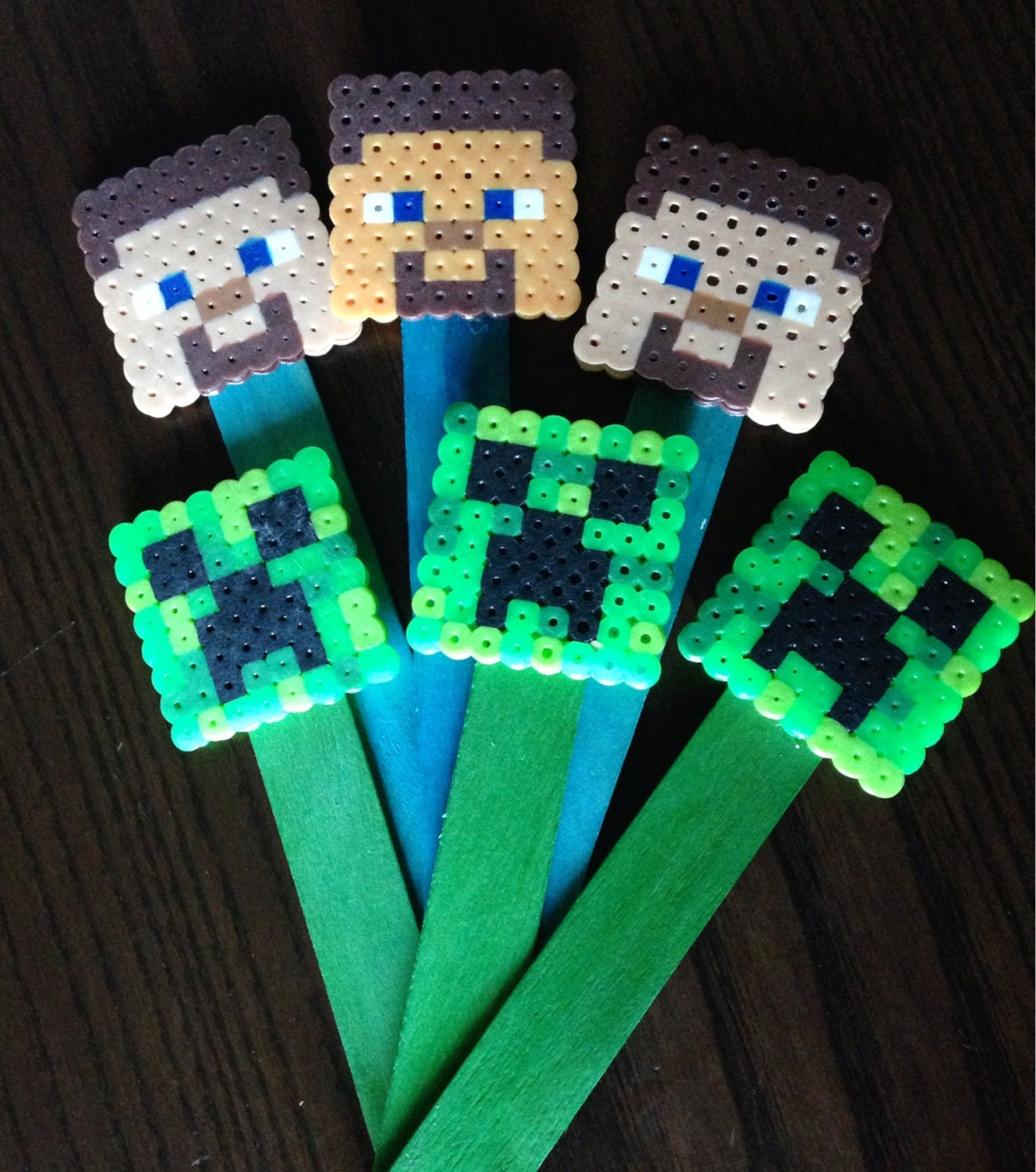 Minecraft bookmarks for books pictures to pin on pinterest for Minecraft bookmark template