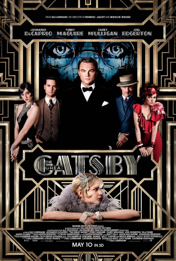 The Great Gatsby (2013) UV Poster v001   V19203