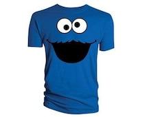 Sesame Street Characters-Cookie Monster, Elmo ,Big bird ,Ernie And More T-shirt Short Sleeve Men's Sizes