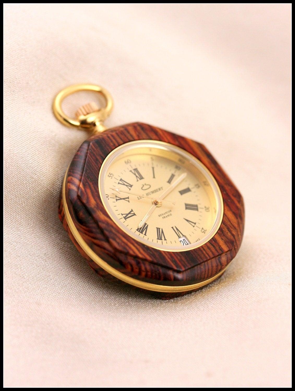 wood pocket wooden pocket watches swiss