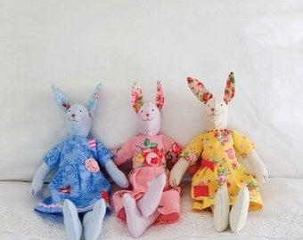 Sugar Bunnies Sewing Pattern 803075