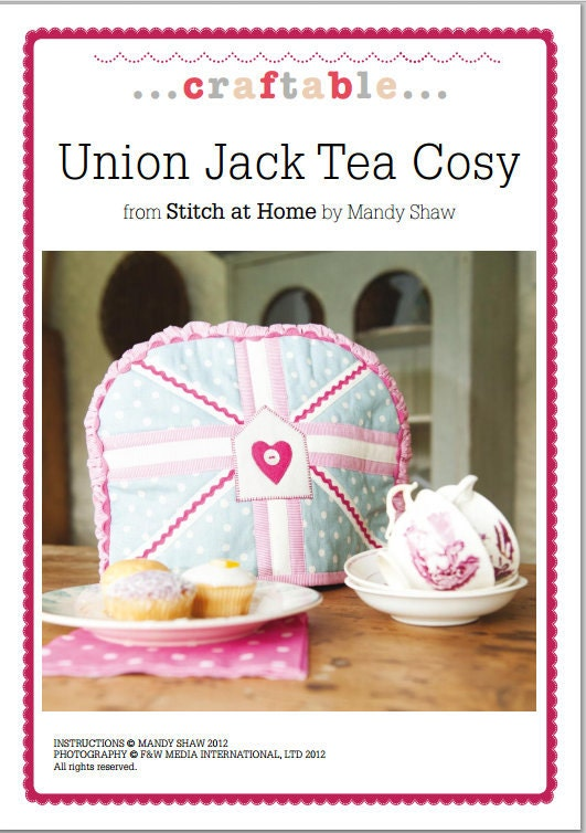 Union Jack Tea Cosy Sewing Pattern Download 802631