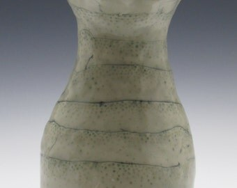 Vase with Green Dots