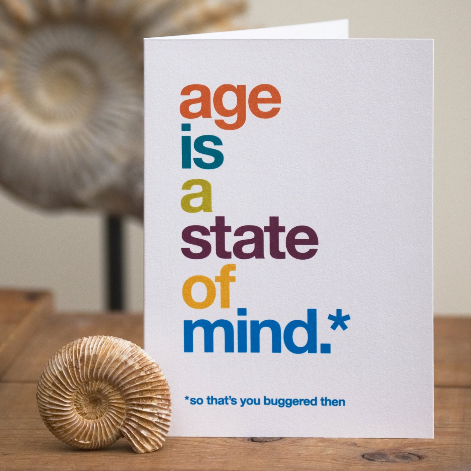 Funny Birthday Card Sarcastic Birthday Card Cheeky Birthday