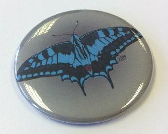 Blue Butterfly - Pocket Mirror