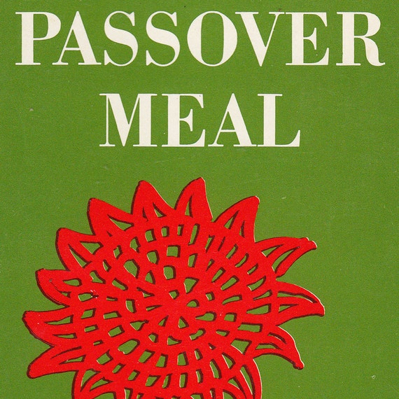 The Passover Meal: A Ritual for Christian Homes by Arleen Hynes - Vintage Pocket Paperback - Pub. 1972