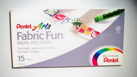 Pentel Arts Fabric Fun Pastel Dye Sticks 15 By Trymysupplies