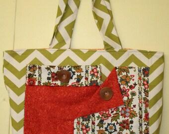 Handmade Fabric Tote