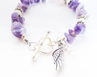 Miscarriage  Bracelet , Preganacy Loss Bracelet , Memorial Bracelet - My Baby Angel in Heaven Fertility Bracelet