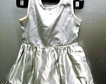 Silver babies dress ages 2-3 ON SALE