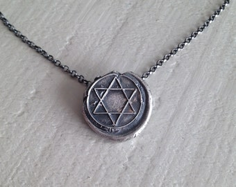 Star of David Fine Silver Necklace - Jewish Christian Symbol of Unity - Made to Order