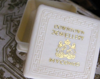 Vintage Celluloid Jewelry Presentation Box