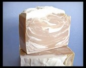 Oakmoss Sandalwood Soap -- Handmade Olive Oil Bar Soap -- Shea Butter Cocoa Butter Soap -- Gift for Him, Husband Gift, Gift for Boyfriend