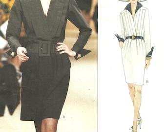 Vogue 1581 // Paris Original // Designer Sewing Pattern By Yves Saint Laurent // Dress // Sizes 8 - 10