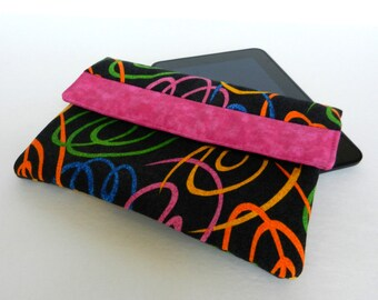 Kindle cover, Kindle case, Nook cover, iPad mini cover, Kobo cover, ereader case, tablet cover, sleeve, envelope, pouch #303