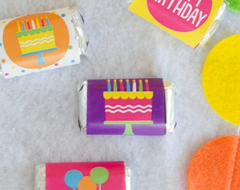 Pretty Polka Dot Party PRINTABLES Candy Bar Wrappers by Love The Day