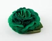 Green Clover Dog Collar Flower