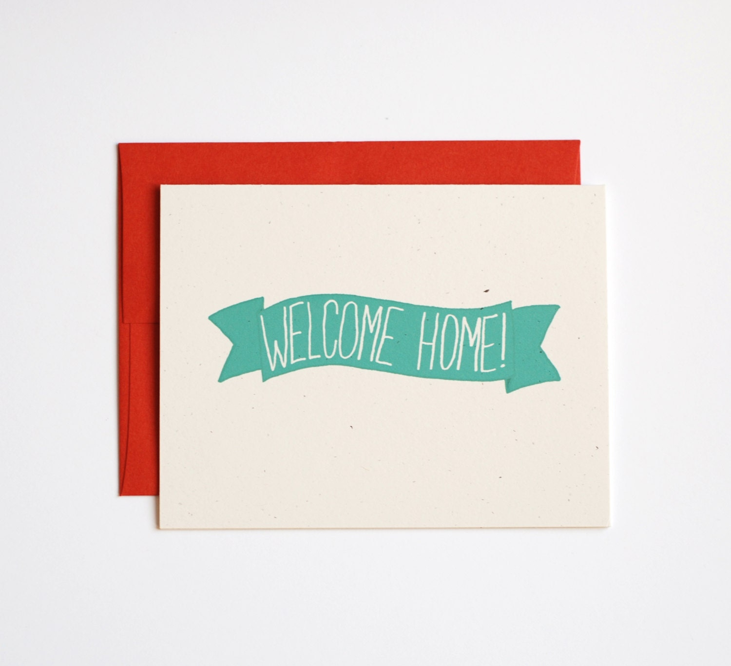 graphic welcome home card with floral frame stock vector colourbox