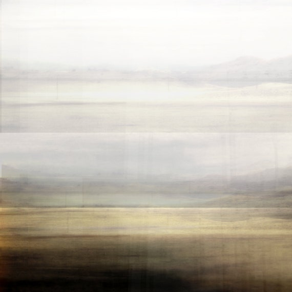 Abstract minimal landscape modern wall art contemporary art for Minimal art landscape