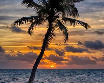 Key West Sunrise - Available Sizes: (5x7) (8x12) (12x18) (16x24) (20x30)  (24x36)
