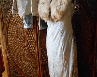 custom matching velvet wedding ensemble mother and son elegant silver velvet