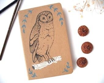 Owl Pocket Notebook Moleskine