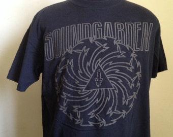 90s Vintage Soundgarden 1992 Badmotorfinger Tour T-Shirt - XL X-Large