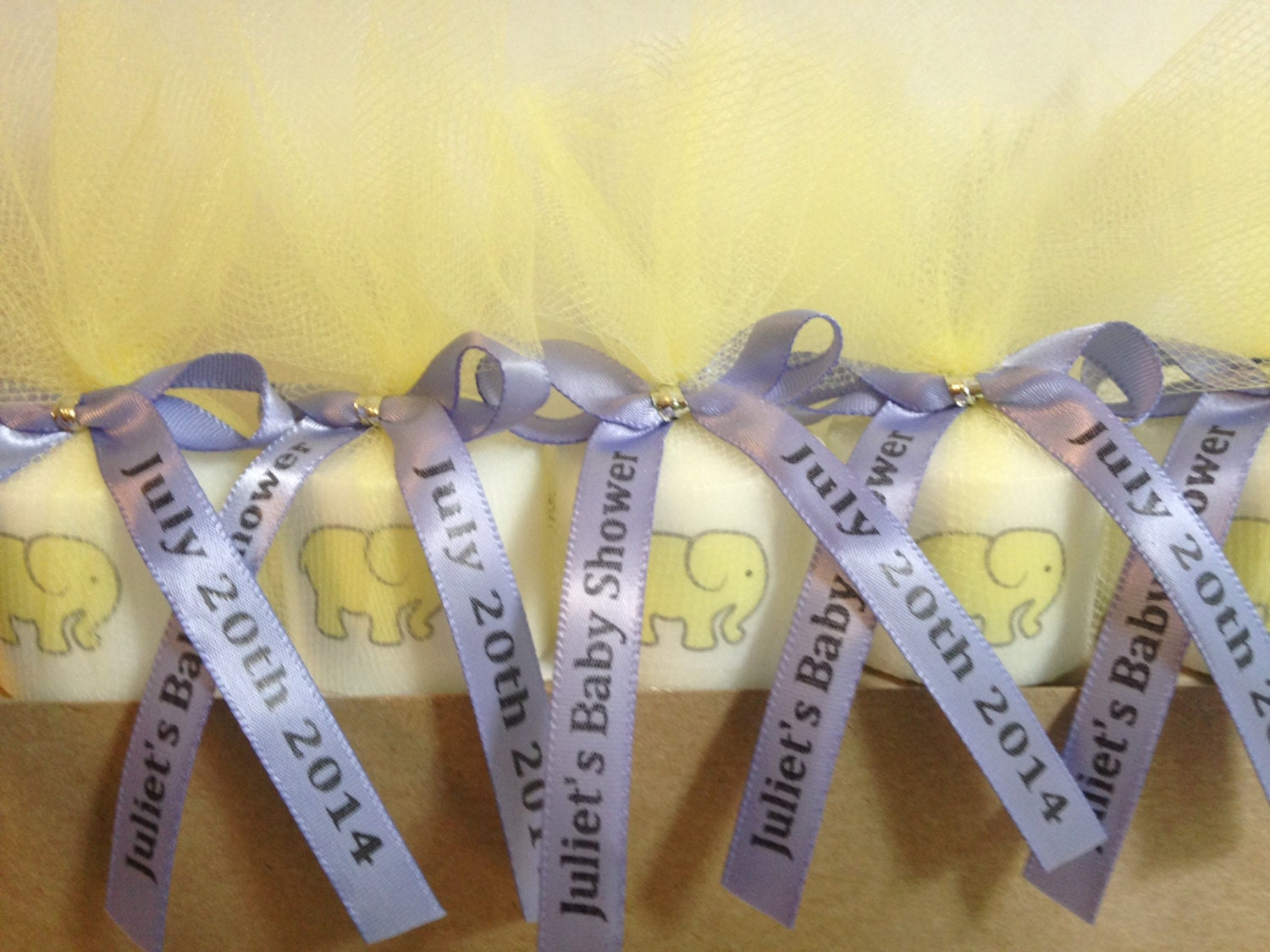 25 baby shower favors elephant themed by ribbonpersonalized