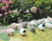 Knitted sheep custom order for you-  waldorf toys. Amigurumi. Fairy Forest animal toys for playscape