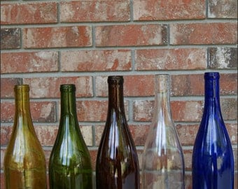 Additional Wine Bottle Globes, Replacement Wine Bottle Globes, Cut Wine Bottles