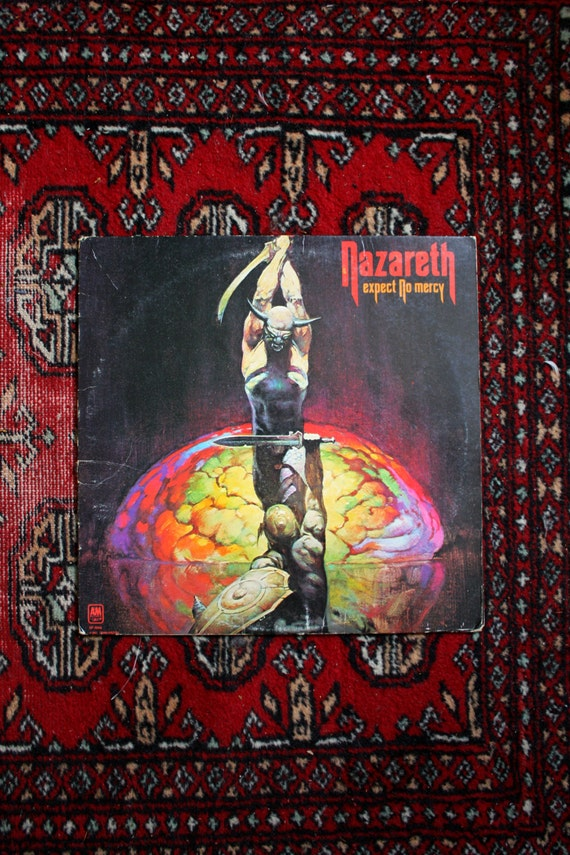 Nazareth Expect No Mercy Vintage Vinyl Lp By Elevatedweirdo