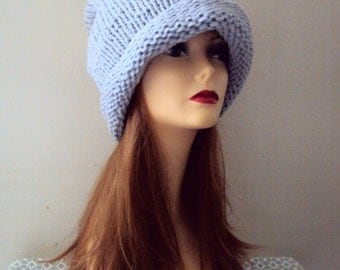 Knit Oversized Beanie Baggy Hat Super Slouchy Chunky Hat Fashion Accessories