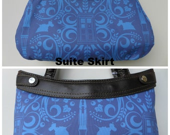 Doctor Who - Purse Skirt ONLY for Thirty-One Skirt Purse