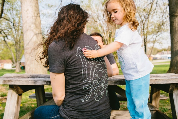S - Number Shirt. Mother Daughter Gift. Play Mat Shirt. Mom and Son. Mommy and Me. Mothers Day Gift For Mom. New Mom Shirt. Back Massage.