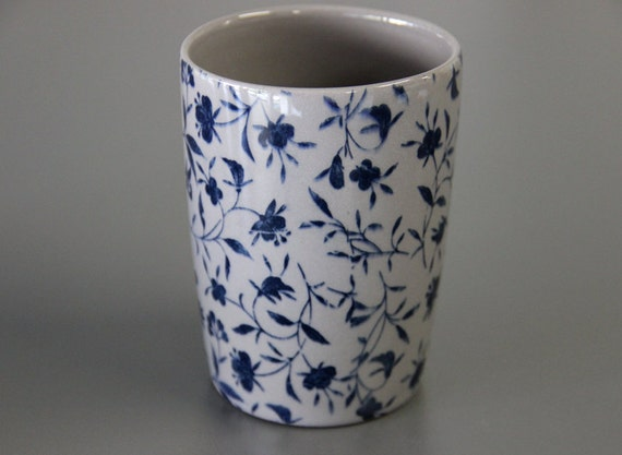 Sale Floral Print Coffee Mug Unique Coffee Mug Unique