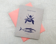 Bumblebee Tuna Greetings / Hello - Ace Ventura Card